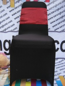 sarung kursi hitam limited